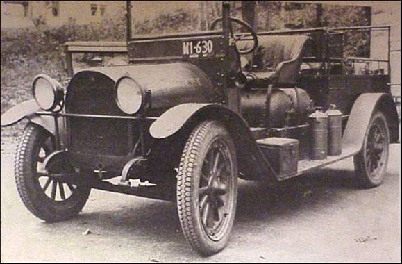 Southwick's First Motorized Firefighting Apparatus