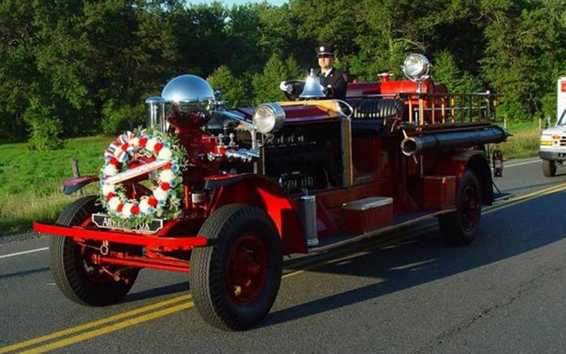 Fire Association's 1924 Ahrens Fox N-S-4 Pumper