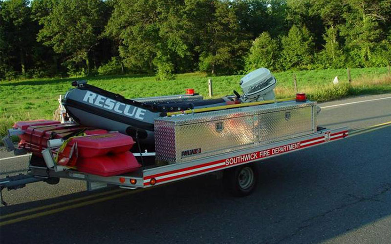 Water-Ice Rescue Trailer
